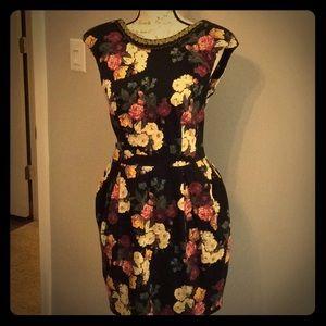 Vintage inspired ladies mini dress